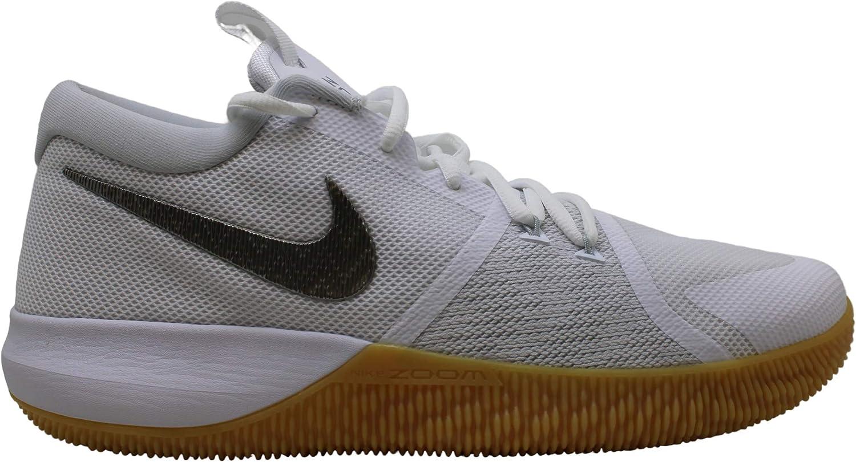 Zoom Assersion Basketball Shoe, White
