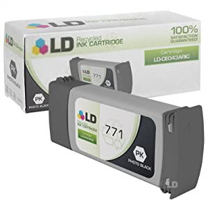 LD Remanufactured Ink Cartridge Replacement for HP 771 CE043A (Photo Black)