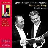Schubert: Lieder, Schwanengesang