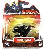 Dreamworks Dragons Defenders of Berk Mini Dragons Toothless Night Fury Action Figure