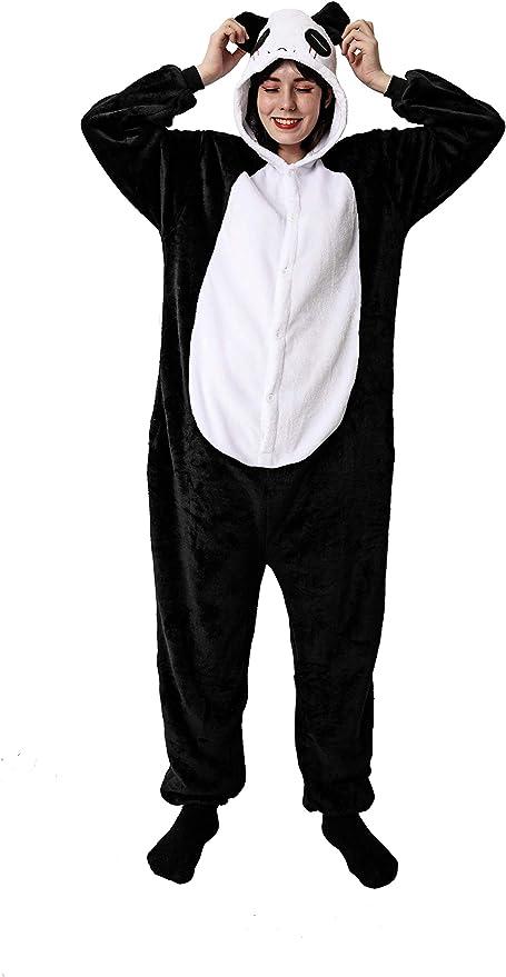 Costumizate! Disfraz de Panda para Adultos Especial para Fiestas ...