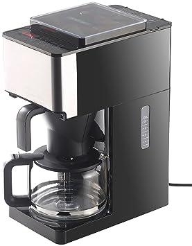Rosenstein & Söhne – Cafetera automática: EW-1510 filtro de café eléctrica, molinillo