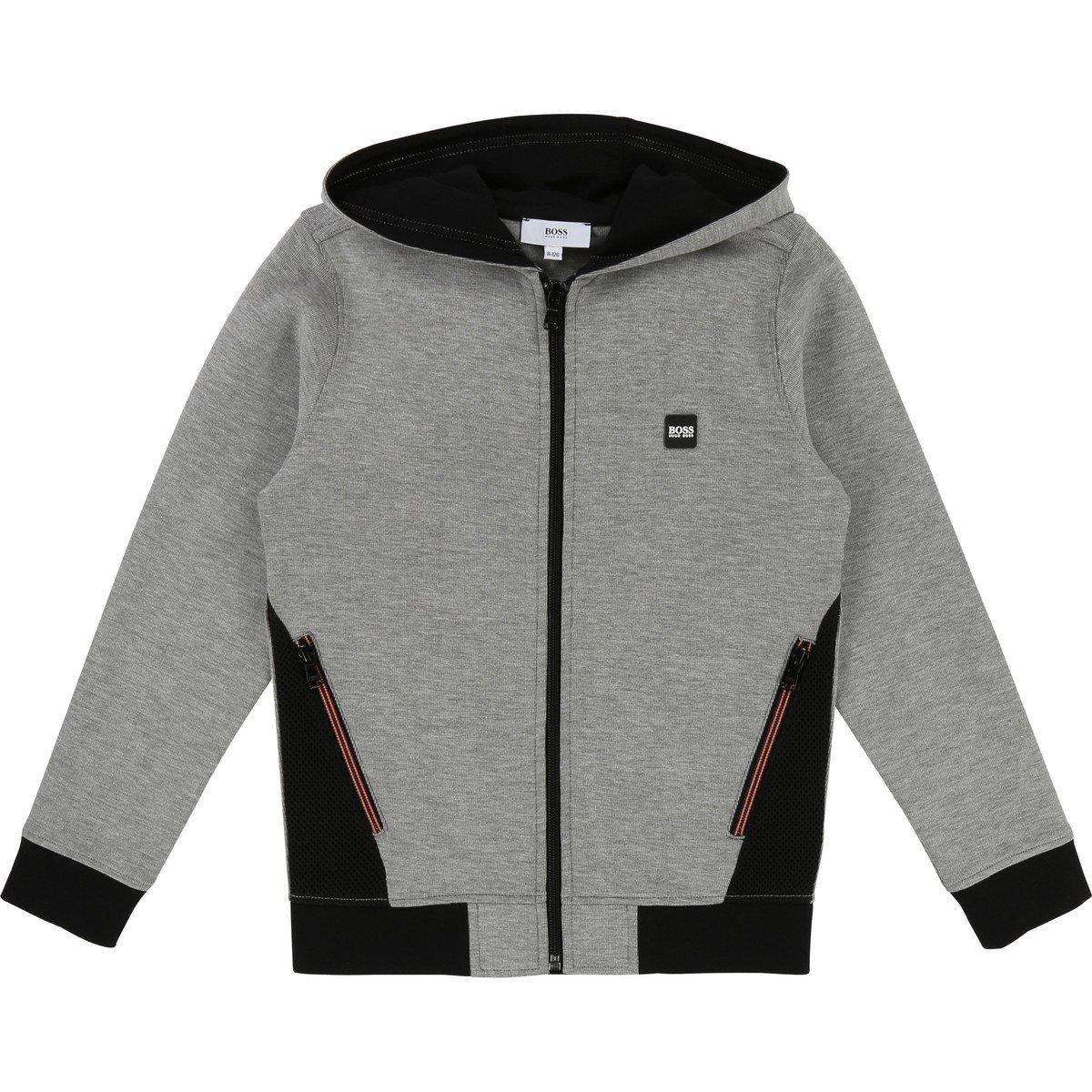 Hugo Boss Kids Boys Full Zip Hoodie Cardigan Sweater 5 Years