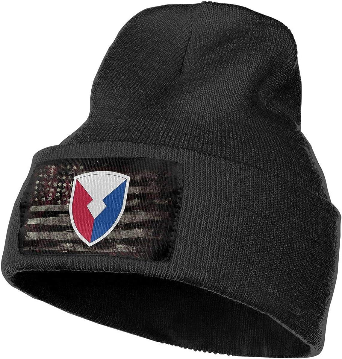 Army Material Command Mens Beanie Cap Skull Cap Winter Warm Knitting Hats.