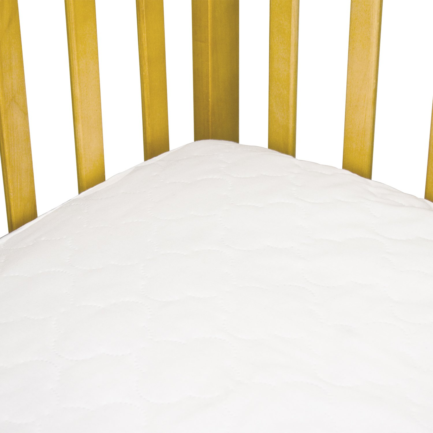 Amazon Sealy Waterproof Fitted Crib Toddler Mattress Pad