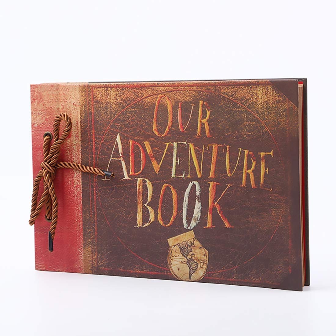 Geqian1982 Photo Album Scrapbook Engraved Our Adventure Book Baby Shower Honeymoon Wedding Love Gift Box Accessory Kit