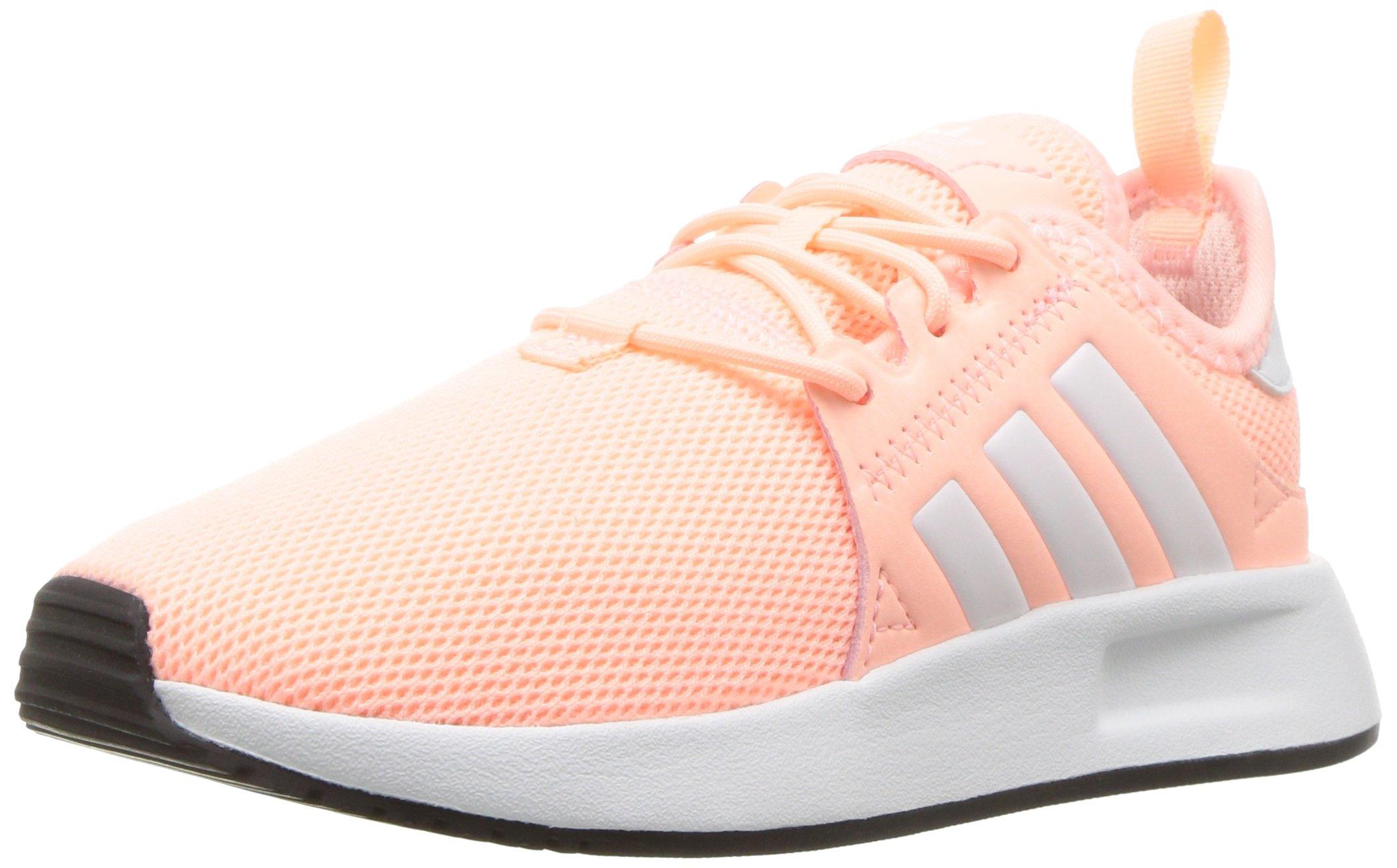 adidas Originals Unisex X_PLR Running Shoe, Clear Orange White, 12.5K M US Little Kid