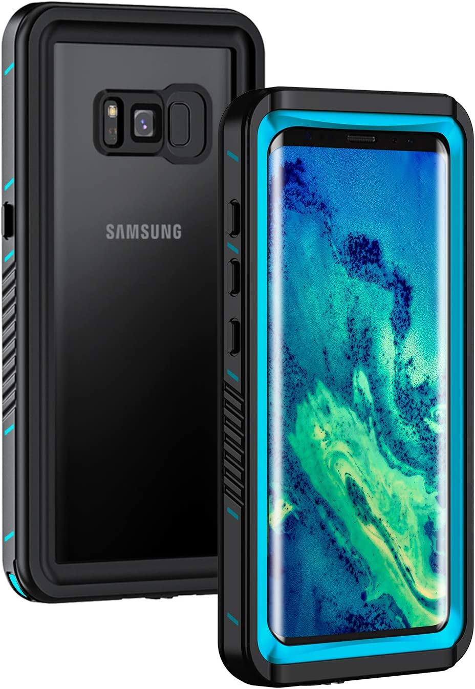 Lanhiem Case Compatible With Samsung Galaxy S8 Ip68 Elektronik