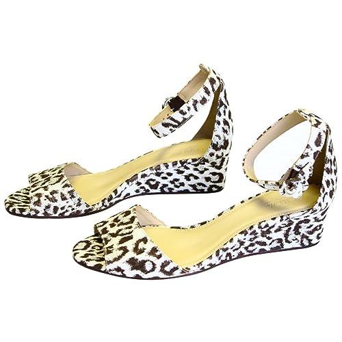 21ebc3efd6b J. Crew Laila Wedges Leopard Print: Amazon.ca: Shoes & Handbags