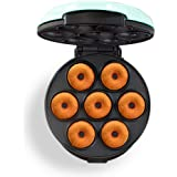 Dash Mini Donut Maker Machine for Kid-Friendly Breakfast, Snacks, Desserts & More with Non-stick Surface, Makes 7 Doughnuts -