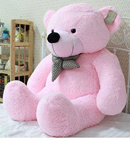 33e4c3c757a Buy AVS Soft 3 Feet Teddy Bear With Neck Bow (91 Cm, Pink) Online at Low  Prices in India - Amazon.in