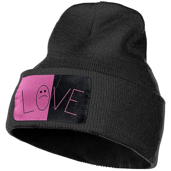 bf3acd0d53a Lil Peep Skull Knit Hat Cap - Warm