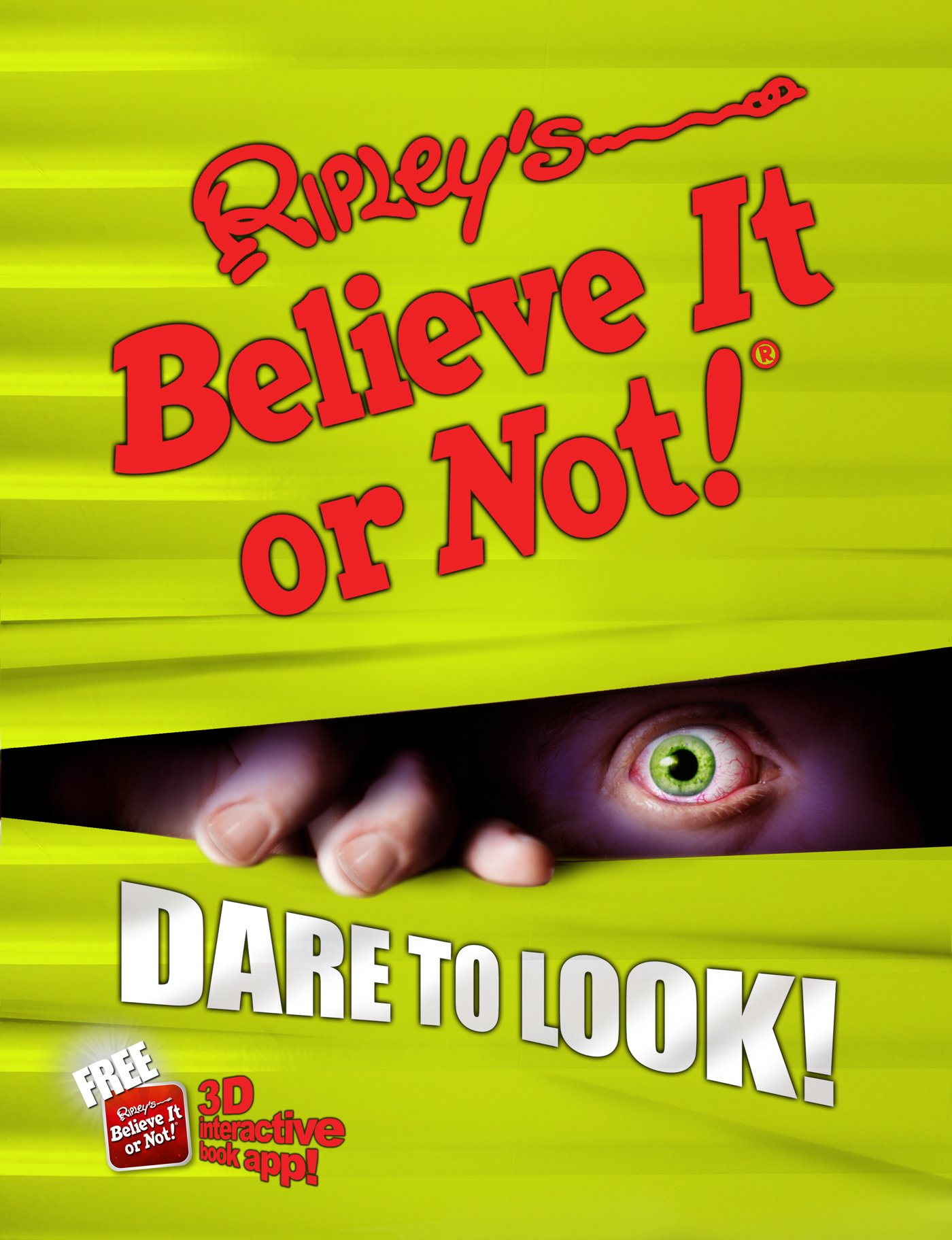 ripley s believe it or not dare to look annual ripley s believe