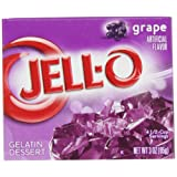 Jell-O Gelatine Dessert Grape (Traube) 85 g
