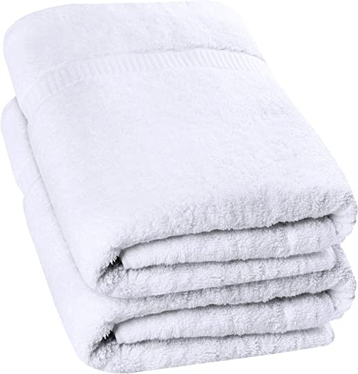 Luxurious Jumbo Bath Sheet Super Soft Hotel Quality Towel - 600 GSM 100/% Ring Spun Cotton Highly Absorbent and Quick Dry Extra Large Bath Towel 2-Pack 35 x 70 Inches, Dark Brown Utopia Towels
