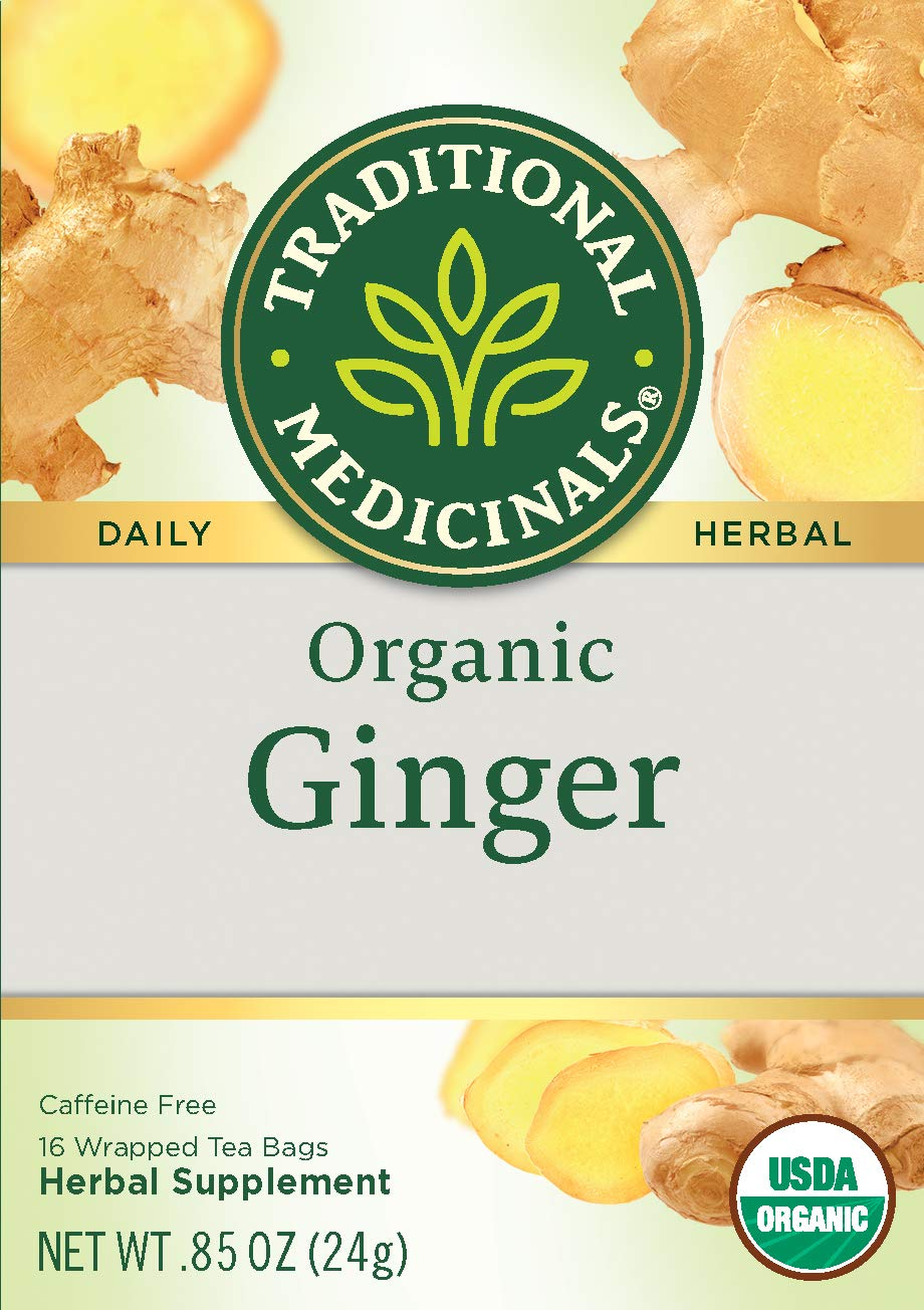 Traditional Medicinals Organic Ginger Herbal Leaf Tea