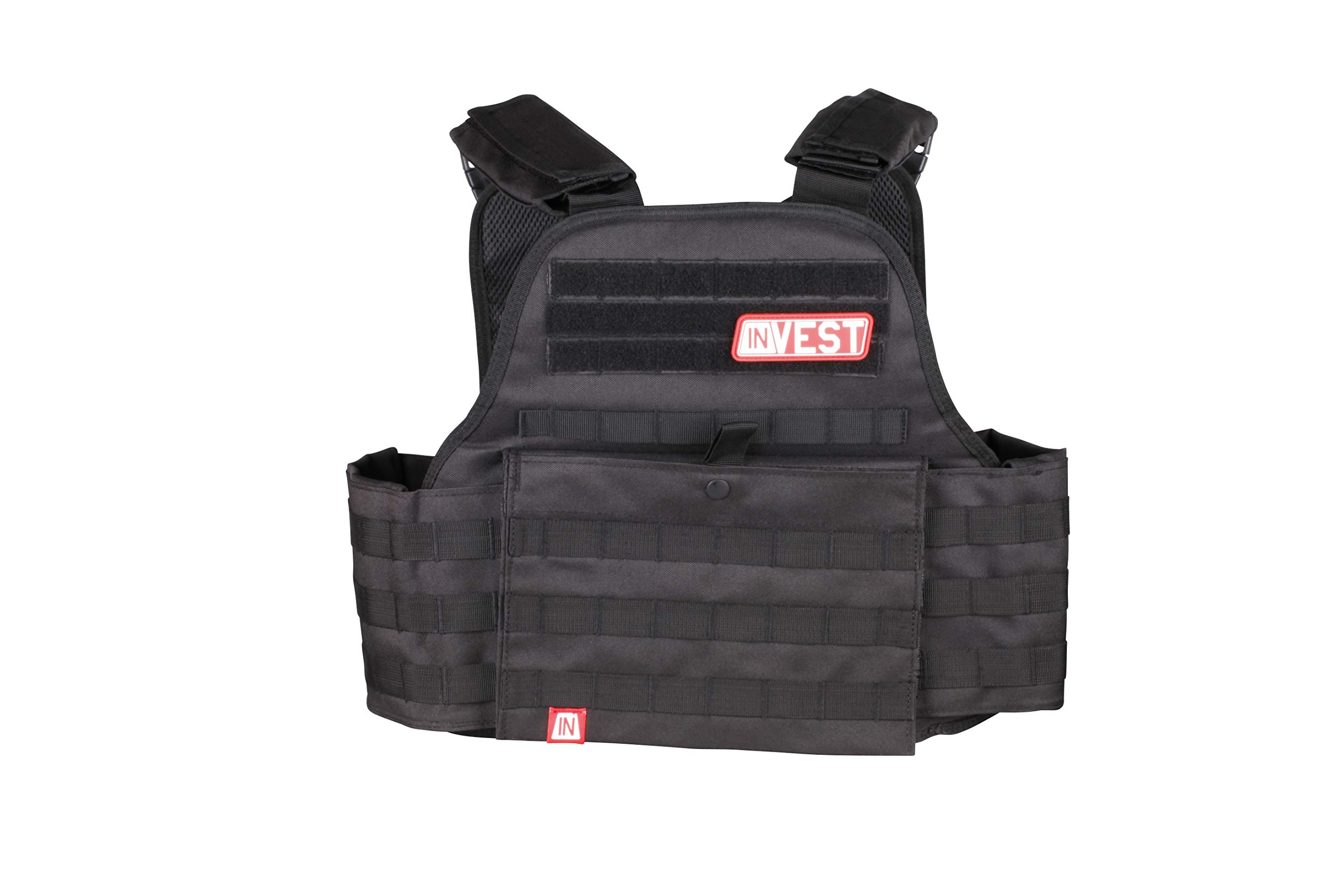 Invest Pro Weight Vest, 14 lbs. (Midnight Black)