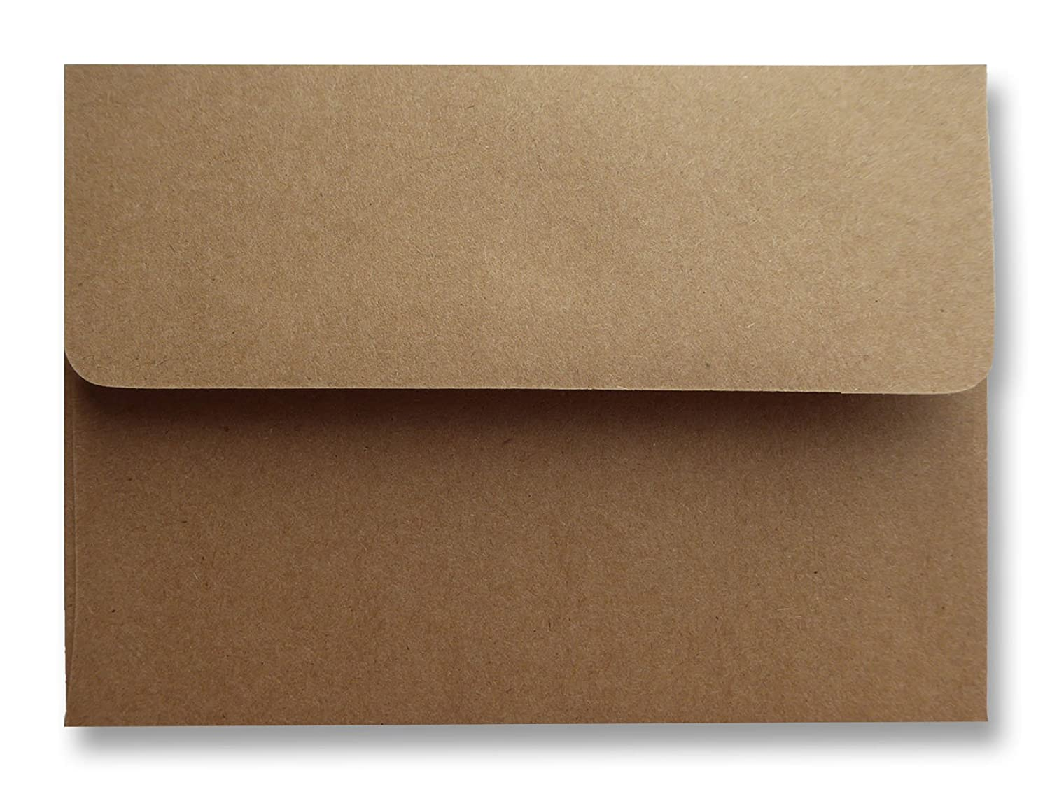 Kraft Grocery Bag Brown 50 Boxed 70lb A2 Envelopes for Weddings Announcements Enclosures from The Envelope Gallery