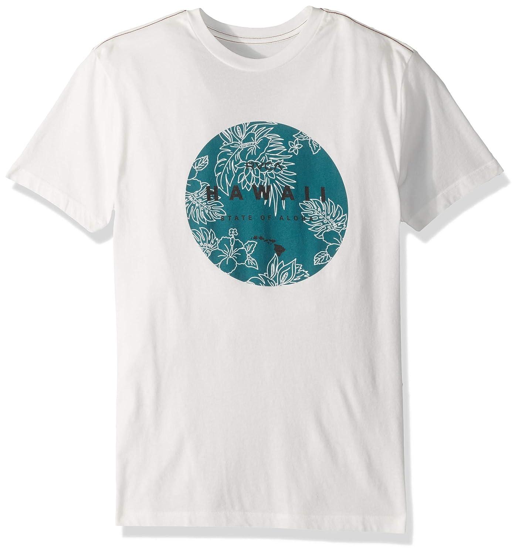 RVCA Mens Da Aina Sphere Short Sleeve Crew Neck T-Shirt