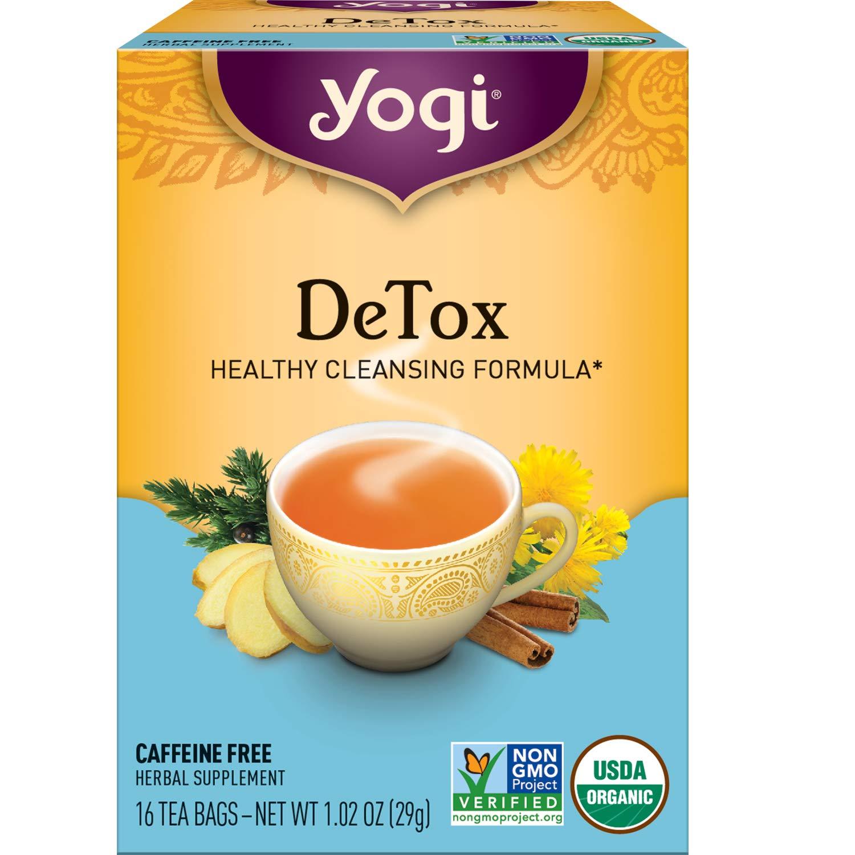 Yogi Tea - DeTox Tea - 4 Pack, 64 Tea Bags