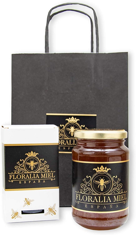Miel natural cruda. 500gr. Edición cajita de colmena. Floralia Miel. España.: Amazon.es: Alimentación y bebidas