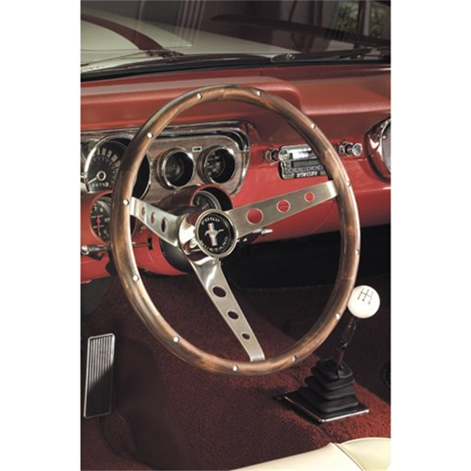 Amazon.com: Grant 963 Mustang Steering Wheel: Automotive