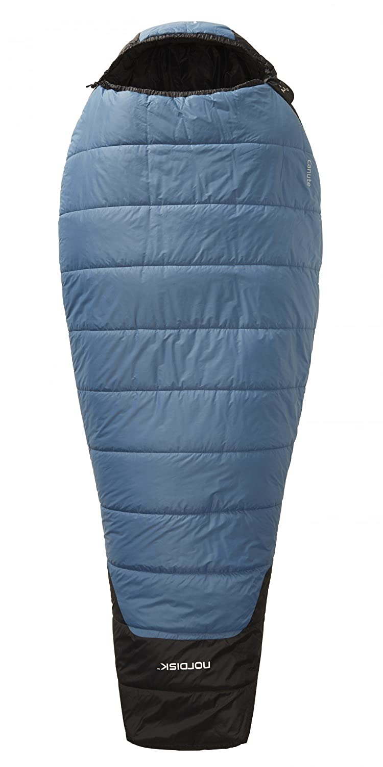 Nordisk Canute -2° Sleeping Bag L real teal/black 2016 Mumienschlafsack