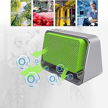 Fulltime - Purificador de Aire portátil, generador de ozono ...
