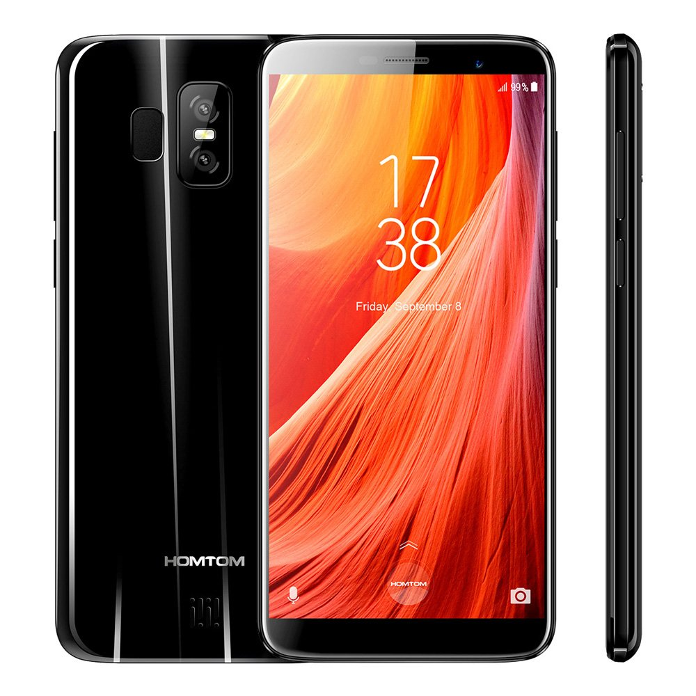 HOMTOM S7 Smartphone 4G-LTE Android 7.0 5.5 Pollici