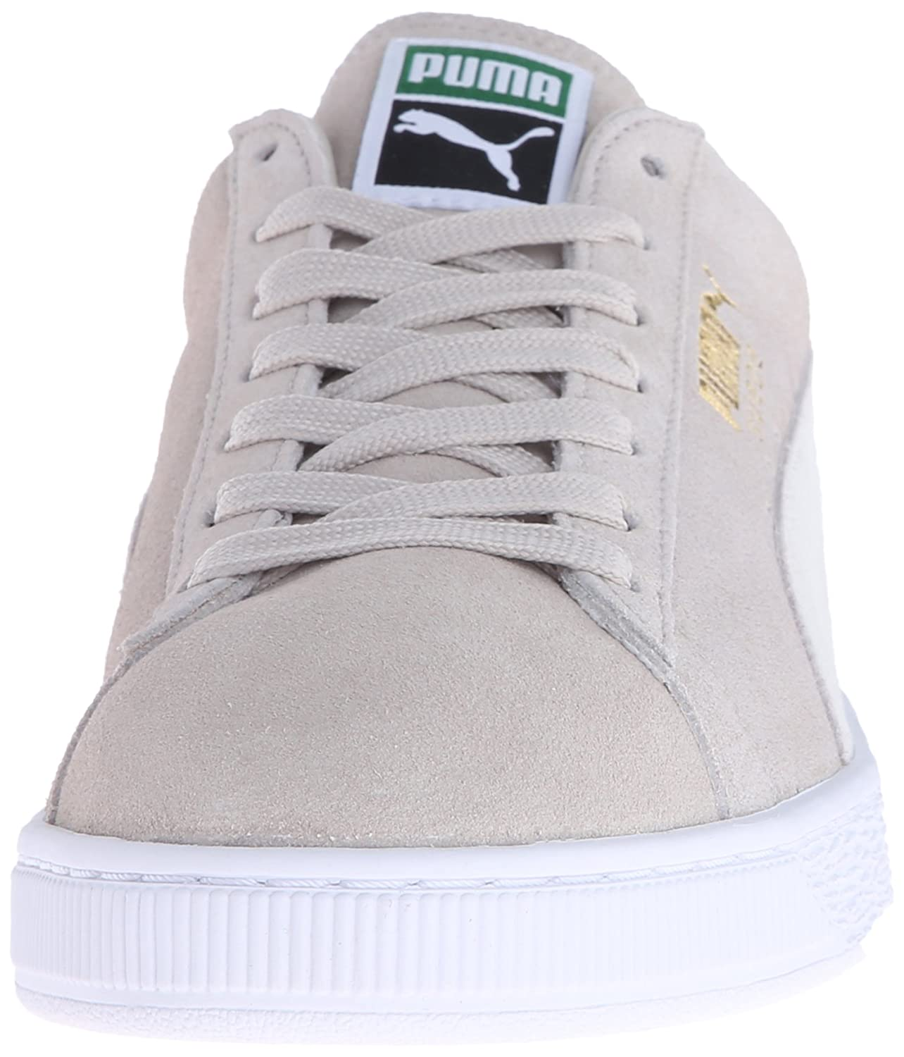 PUMA Adult Suede Classic Shoe B015NUW496 10 M US|Oatmeal/White