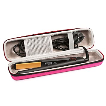 Faylapa Hard Carry Case For Ghd V Gold Classic Stylerhair Straightener Eva Caseaccessories Not Includepink