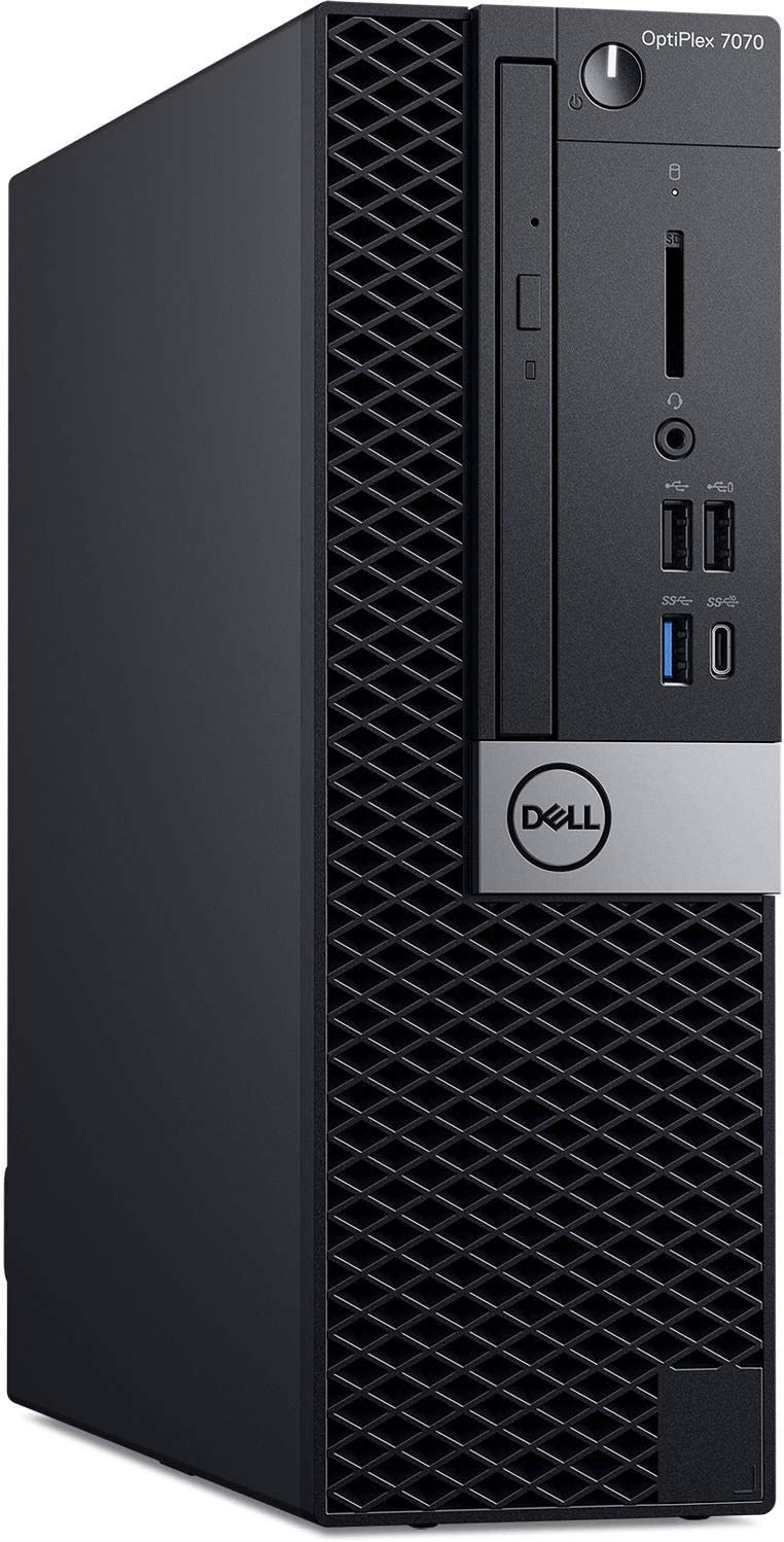 Dell OptiPlex 7070 Desktop Computer - Intel Core i7-9700 - 8GB RAM - 256GB SSD - Small Form Factor