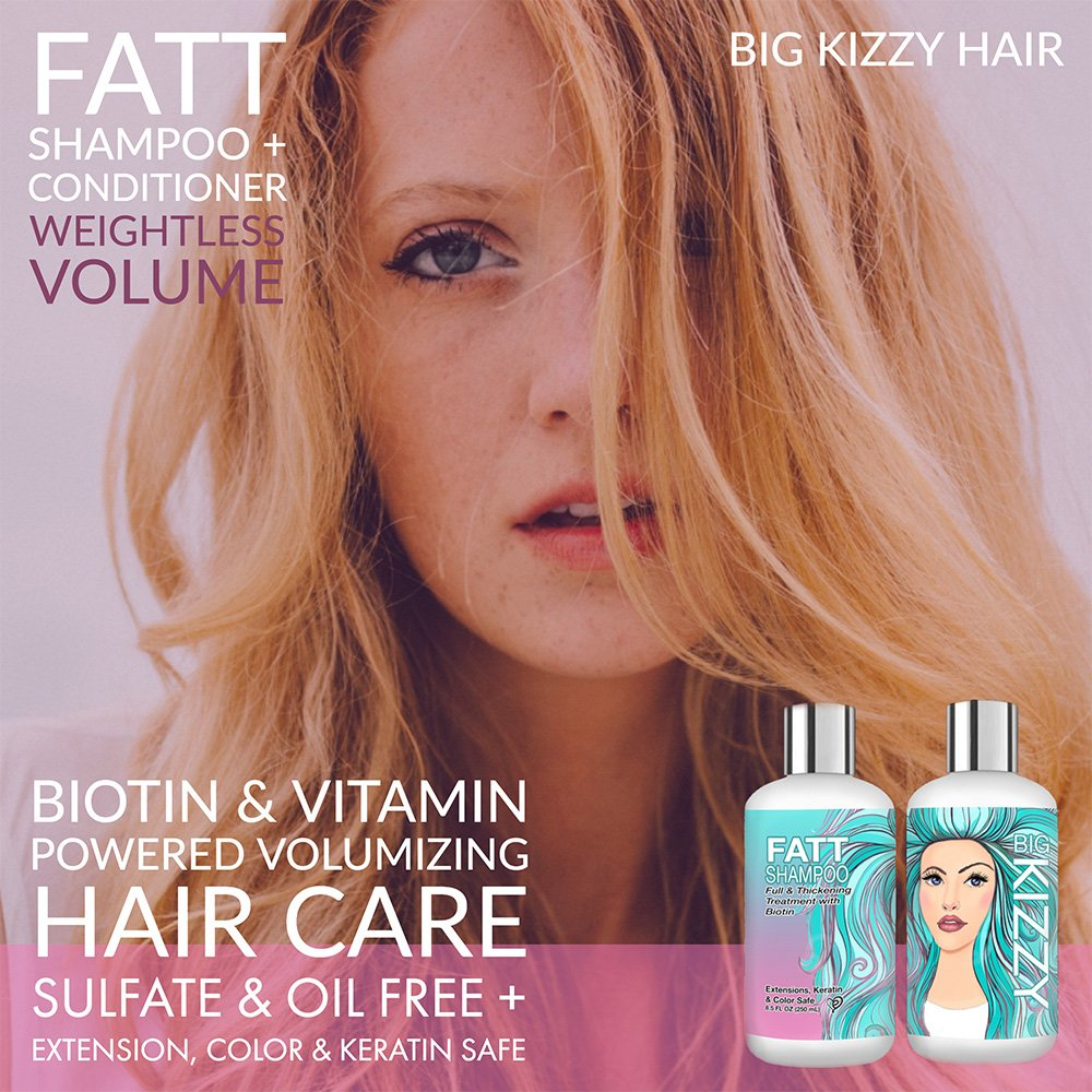 Amazon Volumizing Biotin Shampoo Set Of 2 85oz Color