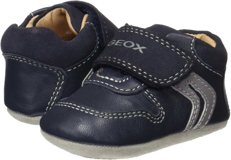 Geox B New Ian C, Chaussures de Naissance bébé garçon, Bleu