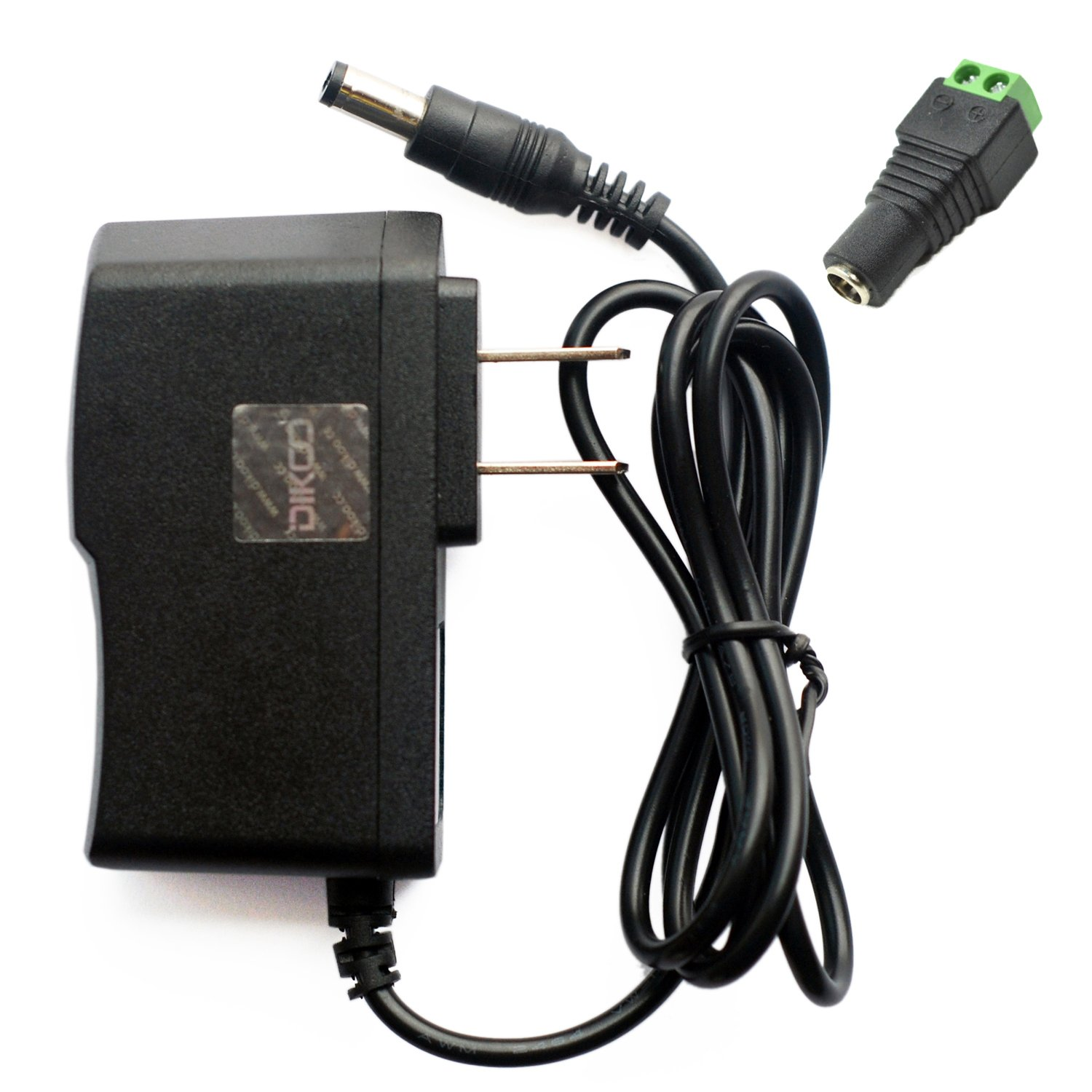 DIKOO AC Adapter Power Supply 6V 1A Wall Charger DC Adapter 2M Note: plesae Check The Output Size on The Picture 6.56ft Length US Plug