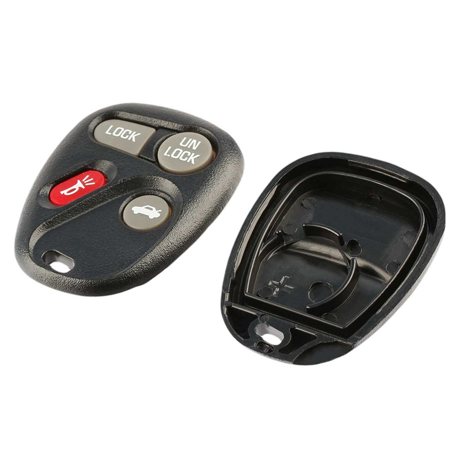 Set of 2 USARemote Key Fob Keyless Entry Remote Shell Case /& Pad fits Chevy 1997-2000 venture//Oldsmobile 1997-2001 Silouette//Pontiac 1999-2001 Montana//1997-1998 Transport
