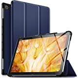 ELTD Huawei 10.1インチ MediaPad M5 Lite 10 タブレット ケース MediaPad M5 lite 10 ケース Wi-Fiモデル/LTEモデル適用 オートスリープ機能付き 手帳型ケース ブルー