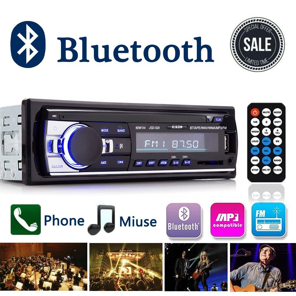 Autoradio,Rixow Autoradio mit Bluetooth Fernbedienung: Amazon.de ...