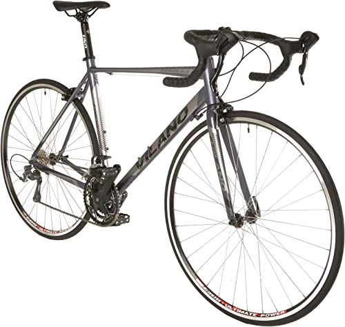 Vilano Forza 2.0 Aluminum Carbon Road Bike with Tiagra STI