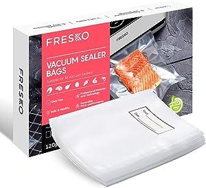 FRESKO Vacuum Sealer Bags 120 Quart 8