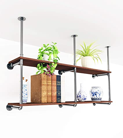 Paper Holders Qualified Sble American Style Retro Old Iron Industrial Pipe Shelf Wall Rack Bookshelf Living Room Bathroom Paper Holder Wooden Shelf For Improving Blood Circulation