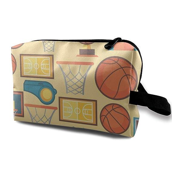 Bolsas de cosméticos de Viaje Baloncesto Deportes Viajes Bolsa de ...
