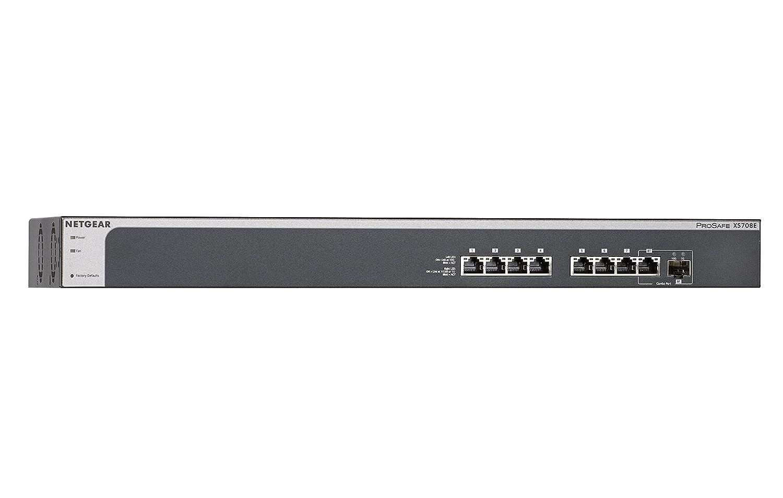 NETGEAR XS708E-100NES ProSAFE 10 Gigabit Ethernet Plus: Amazon.de ...
