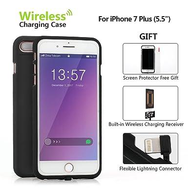 Onine carga inalámbrica receptor para iPhone 7, Qi ...