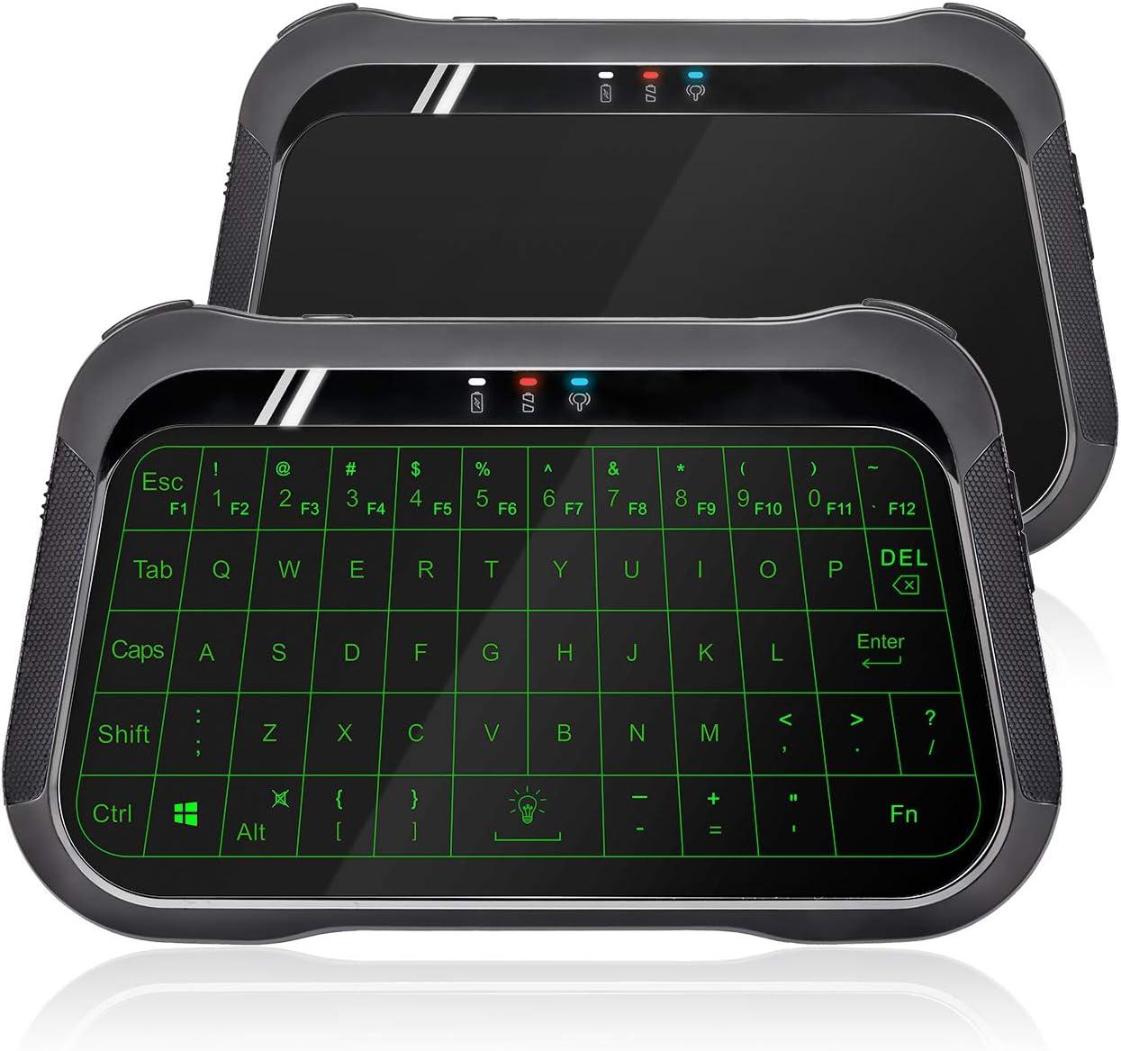 ANEWISH 2.4GHz Mini Wireless Keyboard with Touchpad