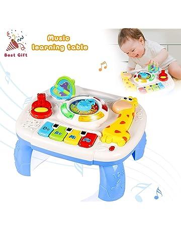 8330cafb7 ACTRINIC Mesa Musical De Estudio Juguete para Bebés De 6 A 12 Meses Juguete  De Educación