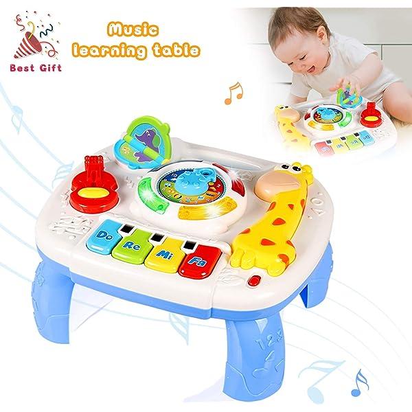 ACTRINIC Mesa Musical De Estudio Juguete para Bebés De 6 A 12 ...