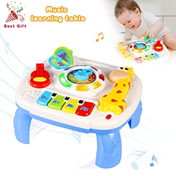Actrinic Musical Learning Table Baby Toys 12 18 Months Up Early
