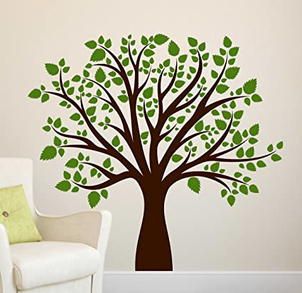 luke and lilly tree design vinyl wall sticker (70 * 65cm) amazon inluke and lilly tree design vinyl wall sticker (70 * 65cm) amazon in home \u0026 kitchen
