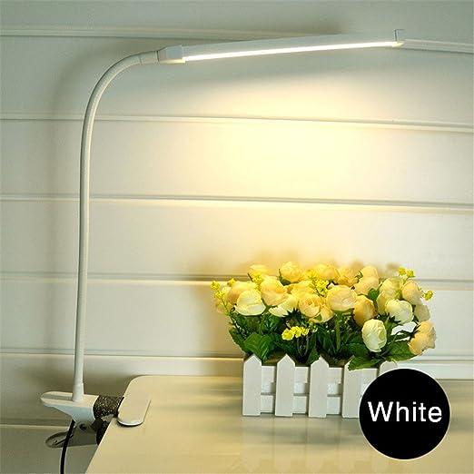 KAWERAS Clip LED Light Lámpara Pinza para Mesa de Tipo Lectura ...